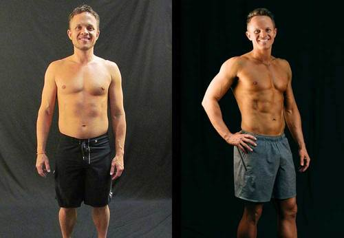Lowered body fat % in 8 weeks photo