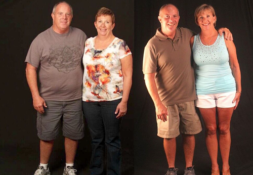 Lost a combined 90+ lbs photo